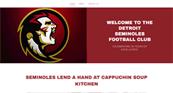 Preview of detroitseminoles.org