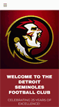 Mobile Preview of detroitseminoles.org