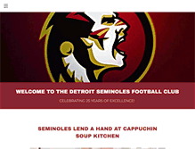 Tablet Preview of detroitseminoles.org